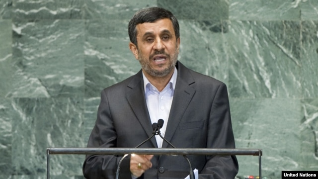 Iranian President Mahmud Ahmadinejad isn't going out quietly.