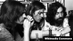 Pink Floyd: Richard Wright, David Gilmour, Nick Mason (1972)