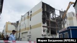 "Снос здания торгового центра ""Зимняя вишня"" в Кемерове"