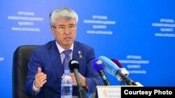 Мәдениет және спорт министрі Арыстанбек Мұхамедиұлы.
