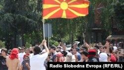 Протести против радикален ислам.
