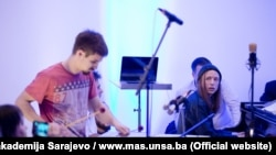 Jazz koncert studenata i njihovih iskusnijih kolega na Muzičkoj akademiji Sarajevo, mart 2017.