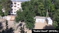 Pamje nga kryeqyteti Dushanbe në Taxhikistan