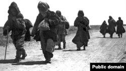 Исход казахов во время Голода 1930-х годов.