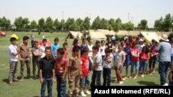 مخيم كشفي للأطفال في السليمانية