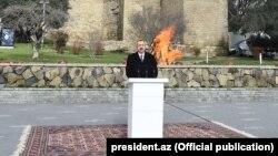 İ.Əliyev Novruz şənliyində. 2018