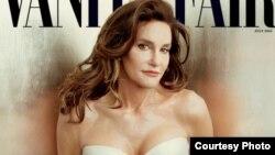 На снимке: Кейтлин Дженнер на обложке Vanity Fair