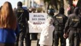 Belarus - Protests after presidential elections in Belarus. Homel, 20Sep2020