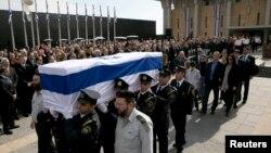 مراسم تشییع جنازه آریل شارون
