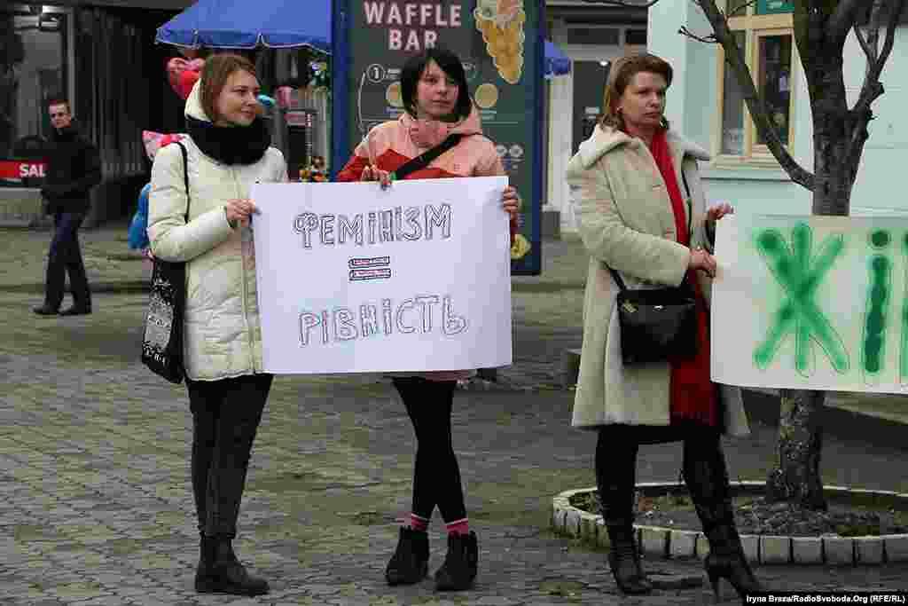 8 березня – Міжнародний день боротьби за права жінок, наголошують організаторки акції