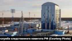 Строительство на космодроме Восточный