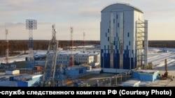 Строительство на космодроме Восточный (архивное фото)
