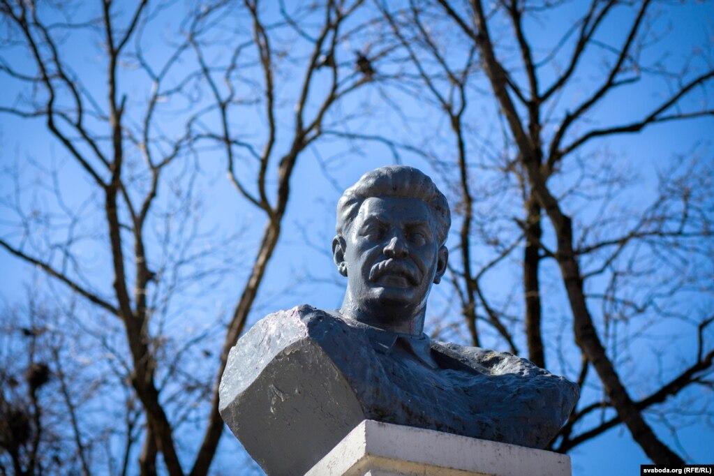 Помнік Сталіну на Алеі славы