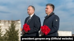 Igor Dodon și Vadim Krasnoselski, la Bender