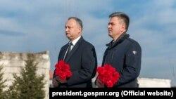 Игорь Додон и Вадим Красносельский, Бендеры