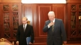 Boris Elțin și Vladimir Putin în 1999