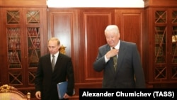 Boris Elțîn și Vladimir Putin. Anul 1999