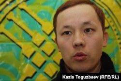 Махамбет Абжан, гражданский активист. Алматы, 14 февраля 2013 года.