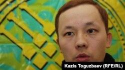 """Махамбет Абжан, руководитель общественной организации """"Шанырак"""". Алматы, 14 февраля 2013 года."""