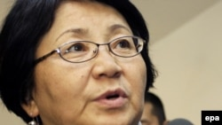 Kyrgyzstan -- Interim government head Rosa Otunbayeva
