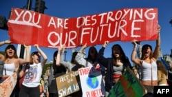 Ученици стачкуват в Обединеното кралство