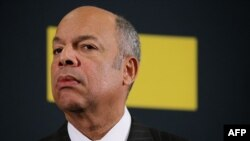 U.S. Homeland Security Secretary Jeh Johnson (file photo)