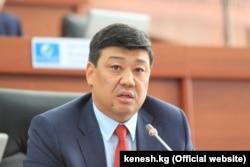 Bakyt Torobaev, leader of Onuguu-Progress
