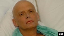 Aleksandr Litvinenko, shortly before his death