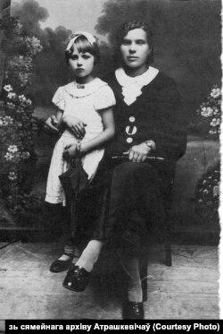 Алена і Часлава Атрашкевіч у Францыі