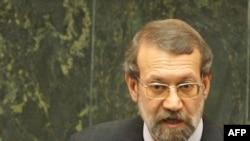 علی لاريجانی، رئیس مجلس شورای اسلامی. (عکس:Afp)
