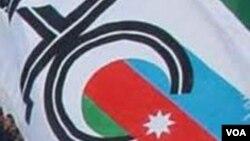 AXCP-nin bayrağı.