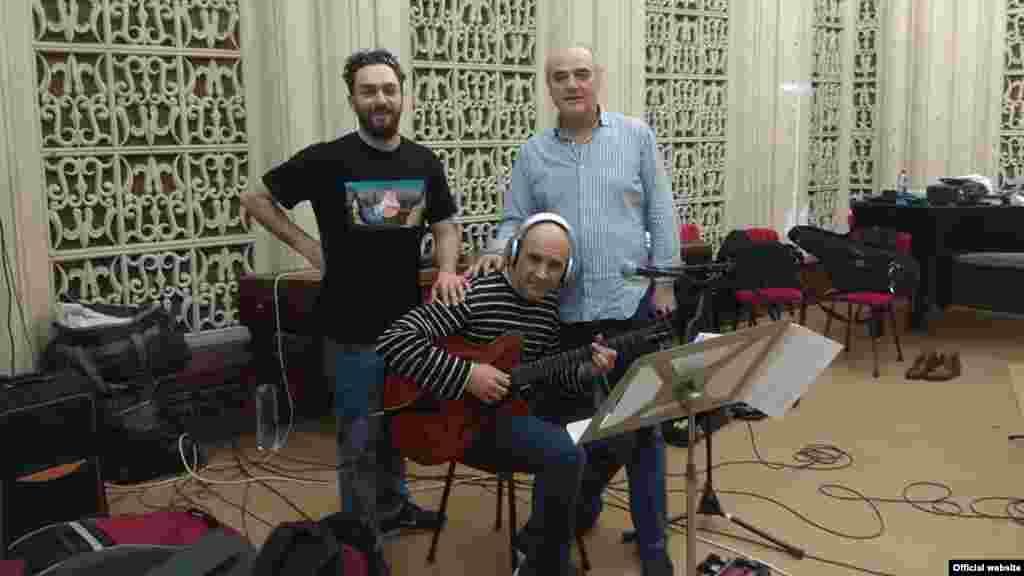 Nicolas Simion, în studioul de înregistrăr de la Köln