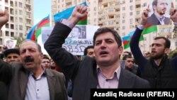 Азербайджанский оппозиционер Асиф Юсифли