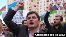 Azerbaijani oppositionist Asif Yusifli (file photo)