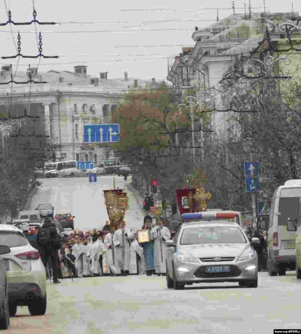 У Севастополі відбулась різдвяна хресна хода, 7 січня 2016 року