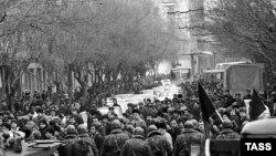 Sovet qoşunları Bakıda, 22 yanvar 1990