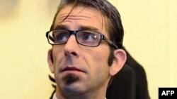 Randy Blythe of Lamb of God in a Prague court on March 4