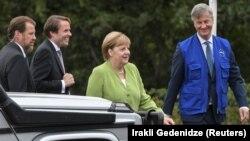 Меркель в грузинском селе Одзиси, 2018 год