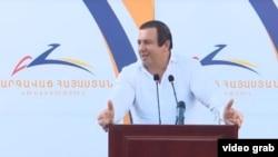 Armenia -- Prosperous Armenia Party leader Gagik Tsarukian, Aug 28, 2020