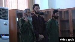 Подсудимые по делу об убийстве Фархунды Маликзады, Кабул.