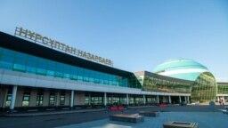 Международный аэропорт Нурсултана Назарбаева в столице Казахстана.