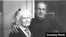 Магда Францевна с сыном Рюриком