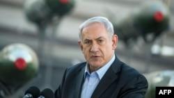 نتانیاهو جهت رونمایی از این جنگافزارها به ایلات اسرائیل رفته بودند- ۱۹ اسفندماه ۱۳۹۲