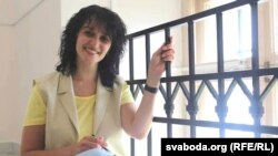 Вольга Дамаскіна, актывістка БНФ з Полацку