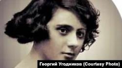 Вера Лотар в молодости