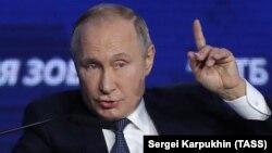 Președintele rus, într-o emisiune recentă de televiziune