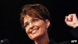 Сара Пэйлин, бывший губернатор штата Аляска.