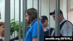 Александр Семин в зале суда.