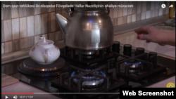 Azərbaycan, mətbəxdə qaz peçi