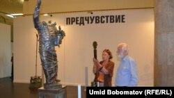 Выставка скульптора Еркина Мергенова